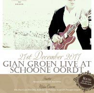 Gian Groen, live, intimate & unplugged