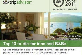 Doing so well on tripadvisor