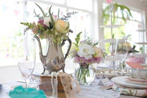 Harriet & Craig High Tea Wedding Decor at Schoone Oordt Swellendam