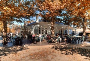 Old Gaol on Church Square, Autumn in Swellendam, South Africa