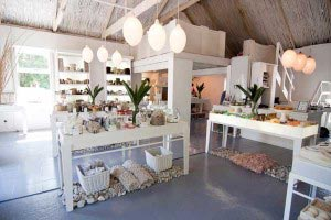Inside the Rain Flagship Store, Swellendam, South Africa