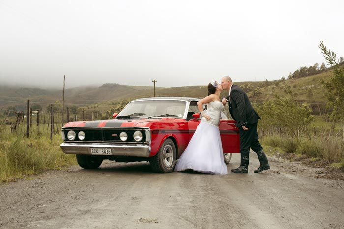 Kevin & Lizelle's rainy country wedding in Swellendam