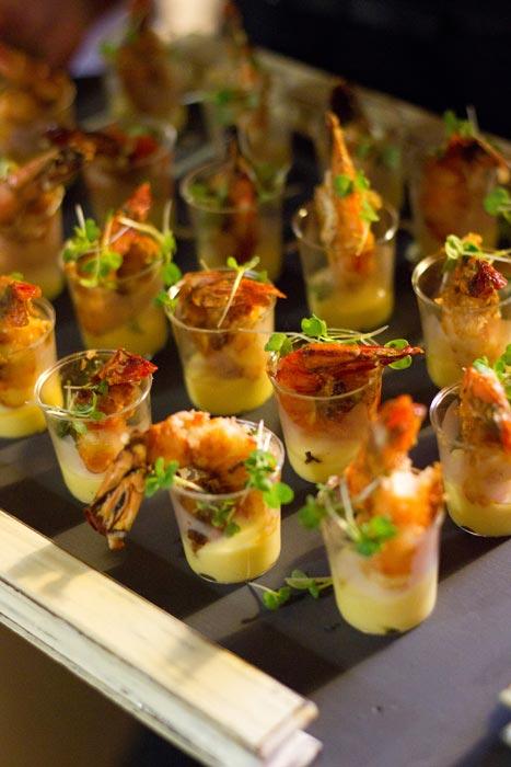 Malay spiced prawns with garlic lemon aioli