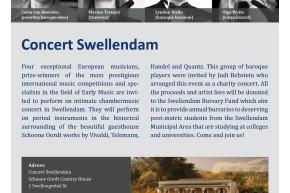 Swellendam House Concert at Schoone Oordt Country Hotel